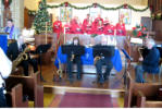Lakeshore Saxophone Quartet at Summerlea 4 Dec 2011